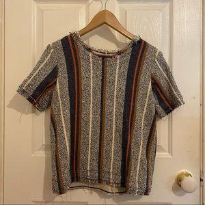Striped, Knit Shirt